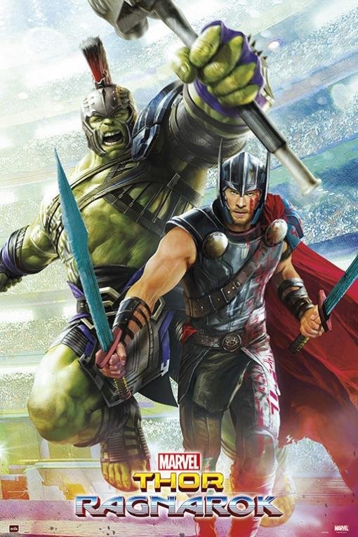 Poster Marvel Thor Ragnarok Las Mejores Ofertas De Carrefour