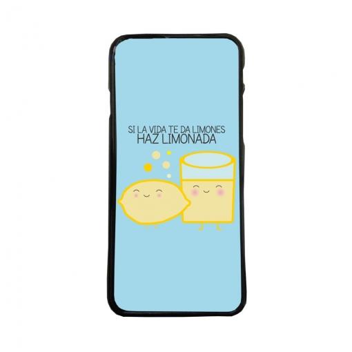 3c924158c07 Carcasas De Movil Fundas De Moviles De Tpu Compatible Con Iphone 6 Plus  Frases Graciosas Limones