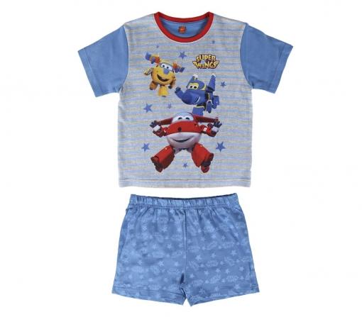 54b766798f 22-2108 Pijama De Algodón Super Wings Para Niños Tallas De 2 A 6 Años