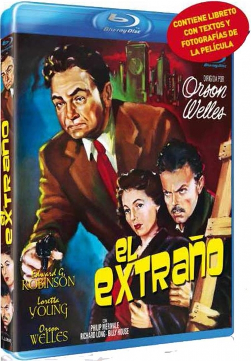 El Extra�o (the Stranger) (blu-ray)