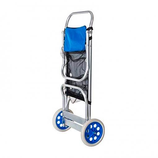 Carro Portasillas Playa Solenny Plegable Convertible En Mesa Aluminio Con Ofertas En Carrefour Las Mejores Ofertas De Carrefour