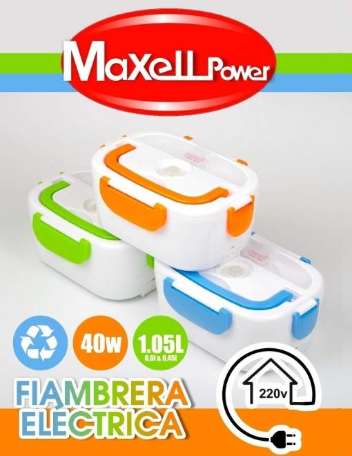 Tartera electrica multifuncional taper portatil fiambrera calentador de comida 40w 3 colores - Cocina electrica carrefour ...