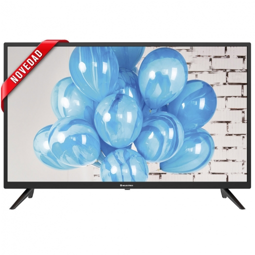 Android TV 9.0, Smart TV, USB, HDMI, Direct LED, Reproductor//Grabador USB Television LED 32 MILECTRIC MITV-32NA05 HD