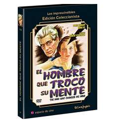 El Hombre Que Trocó Su Mente Dvd The Man Who Changed His Mind Con Libreto 32 Pags  Funda De Carton