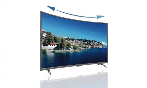 17406cae1830e Blualta - Televisión Curva Full Hd Led Tv 32