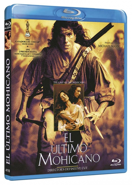 El Ultimo Mohicano (blu-ray) (the Last Of The Mohicans)