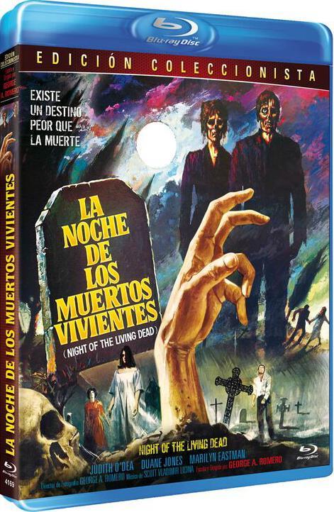 La Noche De Los Muertos Vivientes 1968 Ed Especial Blu Ray Night Of The Living Dead Con Ofertas En Carrefour Las Mejores Ofertas De Carrefour