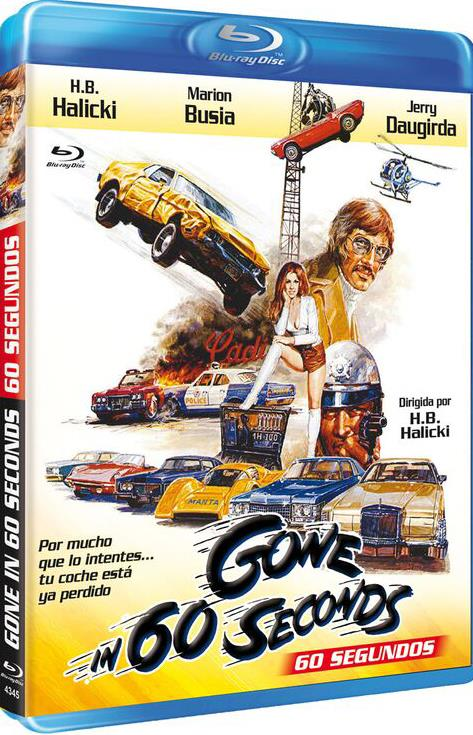 60 Segundos (1974) (blu-ray) (bd-r) (gone In 60 Seconds)