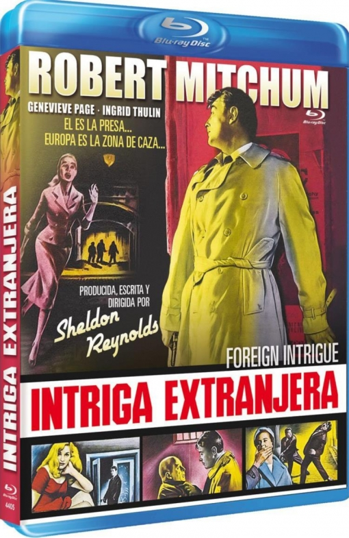 Intriga Extranjera (blu-ray) (foreign Intrigue)