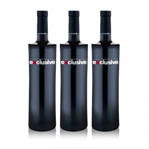 Ladrón De Lunas Vino Tinto Exclusive. D.o Utiel-requena. 100% Bobal. Botella De 75 Cl. Pack De 3 Botellas