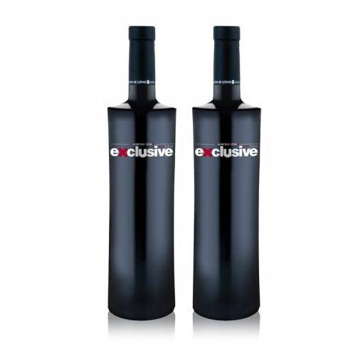 Ladrón De Lunas Vino Tinto Exclusive. D.o Utiel-requena. 100% Bobal. Botella De 75 Cl. Pack De 2 Botellas