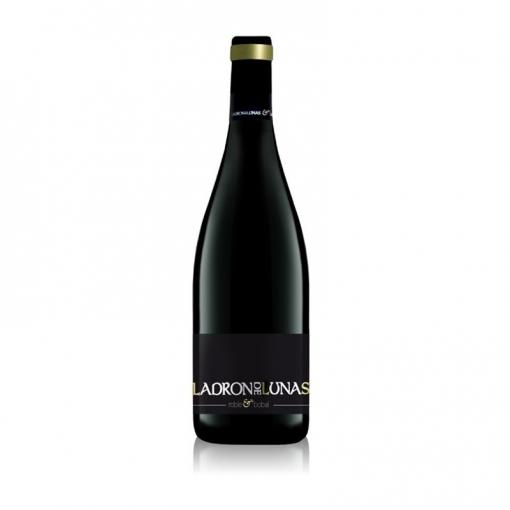 Ladrón De Lunas Vino Tinto Roble Bobal. D.o Utiel-requena. 100% Bobal. Botella De 75 Cl. Pack De 6 Botellas