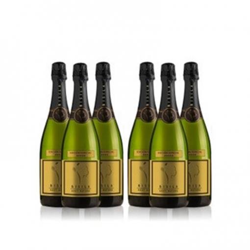 Ladrón De Lunas Cava Bisila Brut Natural Edición Especial. 100% Chardonnay. Cava De La Comunidad Valenciana. Pack De 6 Botellas