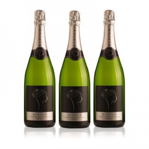 Ladr�n De Lunas Cava Bisila Brut. Cava De La Comunidad Valenciana. 80% Macabeo, 20% Chardonnay.botella De 75. Pack De 3 Botellas
