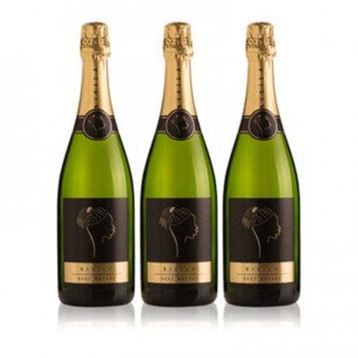 Ladrón De Lunas Cava Bisila Brut Nature. Cava De La Comunidad Valenciana. 90% Chardonnay, 10% Macabeo. Pack De 3 Botellas
