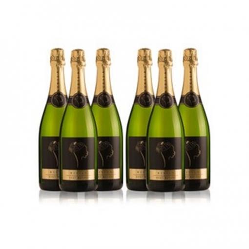 Ladrón De Lunas Cava Bisila Brut Nature. Cava De La Comunidad Valenciana. 90% Chardonnay, 10% Macabeo. Pack De 6 Botellas