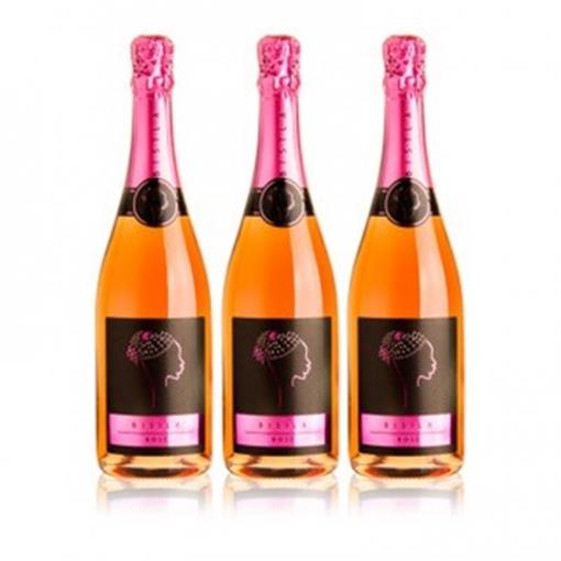 Ladrón De Lunas Cava Bisila Rose. Cava De La Comunidad Valenciana. 100% Garnacha. Botella De 75 Cl. Pack 3 Botellas