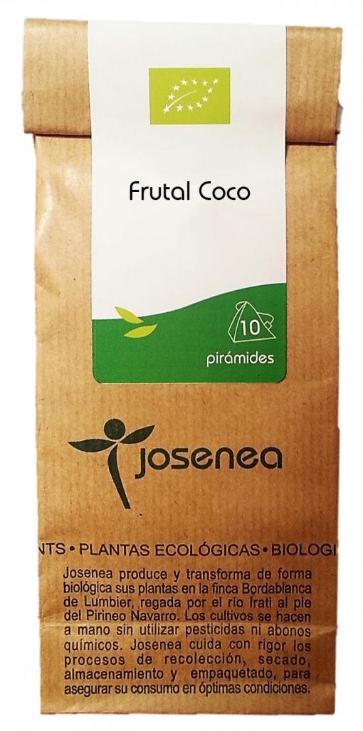 Infusión Frutal Coco, En Pirámides, 10pir/20gr