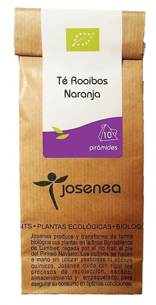 Infusión Té Rooibos Naranja, En Pirámides, 10pir/20gr