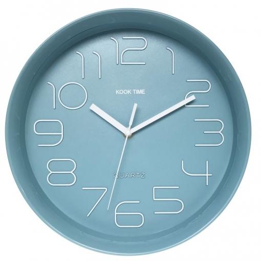 Reloj Pared Retro Redondo Nordic Green