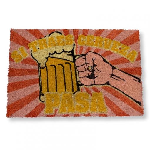 Felpudo Coco - Si Traes Cerveza