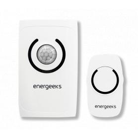Alarma Timbre Sin Hilos Con Detector De Movimiento Energeeks