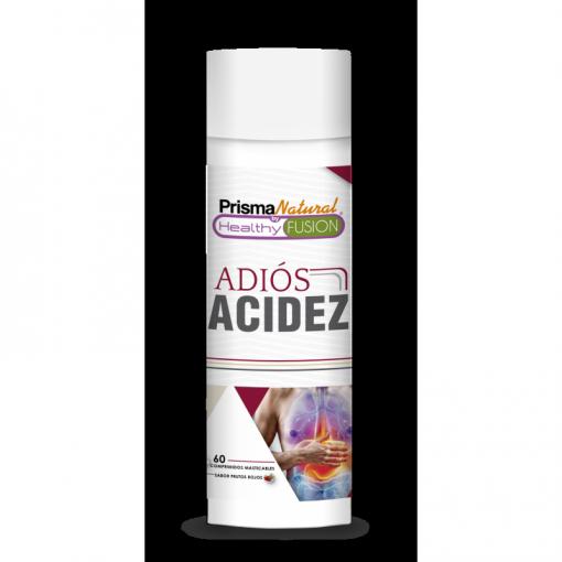 Adios Acidez. Potente Antiácido Y Antireflujo. Mejora La Salud Digestiva, Inhibe El Acido Gástrico Y Protege El Estómago