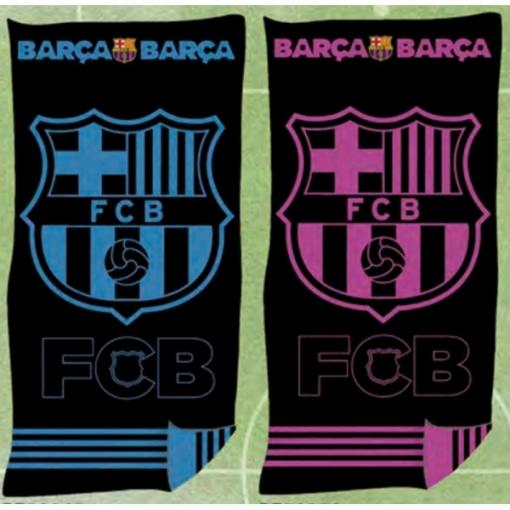 862628a5abbd9 Toalla Playa Oficial Fc Barcelona Jaqcuard 100% Algodón 90x170 Cms (  Disponible En Azul Y Rosa) - Color  Rosa