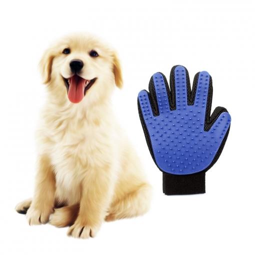 Guantes Manopla Masaje Para Mascotas Perros Gatos Retiro Del Pelo Y