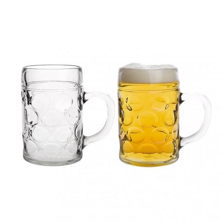 Set 2 Jarras 285ml Para Cerveza