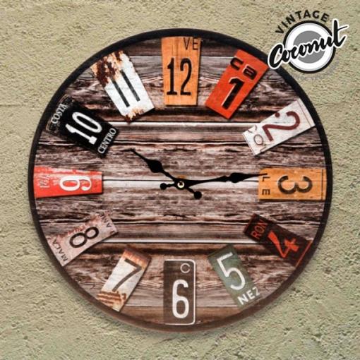 7af6eecc4e1a Reloj De Pared Analógico Antique