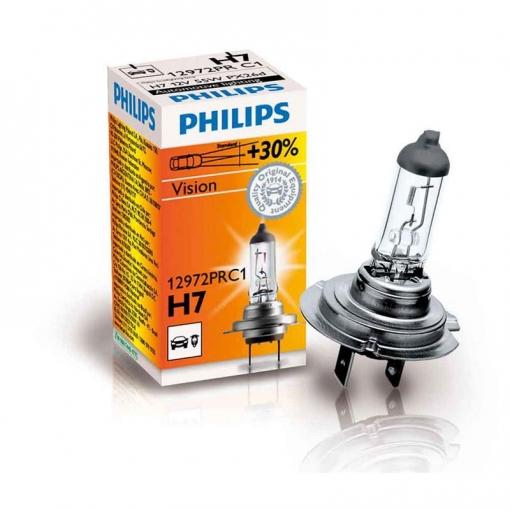 12972prc1 1 Lampara Halogena Philips H7 12v Vision 30 Con Ofertas En Carrefour Las Mejores Ofertas De Carrefour