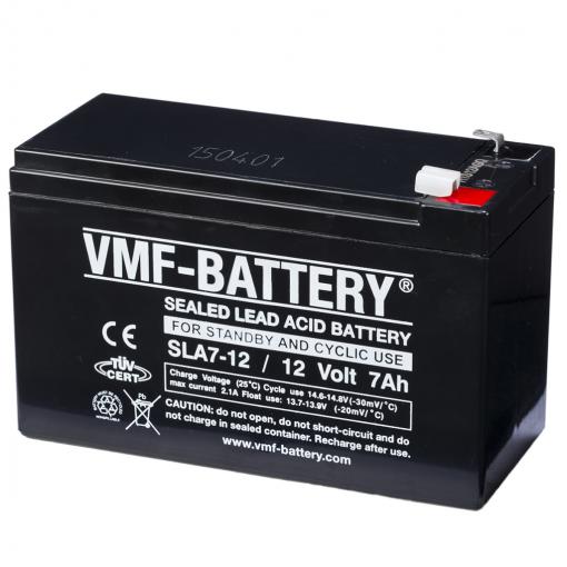 Batería Aparatos Estáticos Cíclicos 12 V 7 Ah Sla7-12 Vmf Agm
