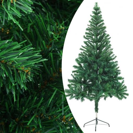 árbol De Navidad Artificial Con Soporte 150 Cm 380 Ramas Vidaxl Con Ofertas En Carrefour Las Mejores Ofertas De Carrefour