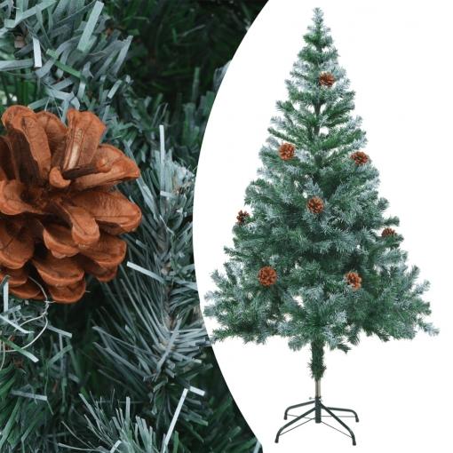 árbol De Navidad Glaseado Con Piñas 150 Cm Vidaxl Con Ofertas En Carrefour Las Mejores Ofertas De Carrefour
