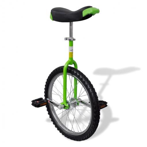 Monociclo Verde Ajustable, 20 Pulgadas