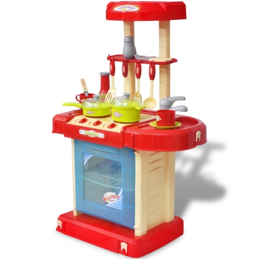 Cocina De Juguete Para Niños Con Efectos De Luz Y Sonido