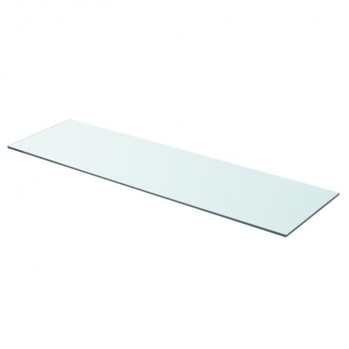 Vidaxl Panel De Estante Vidrio Claro 90x25 Cm