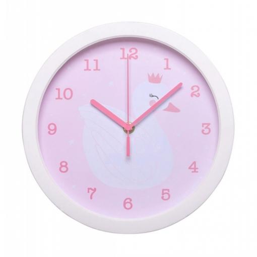 Reloj De Pared Little Lovely Cisne