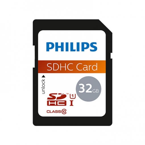 Philips Tarjeta Sdhc 32gb Clase 10 Uhs-i