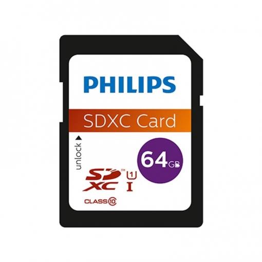 Philips Tarjeta Sdxc 64gb Clase 10 Uhs-i