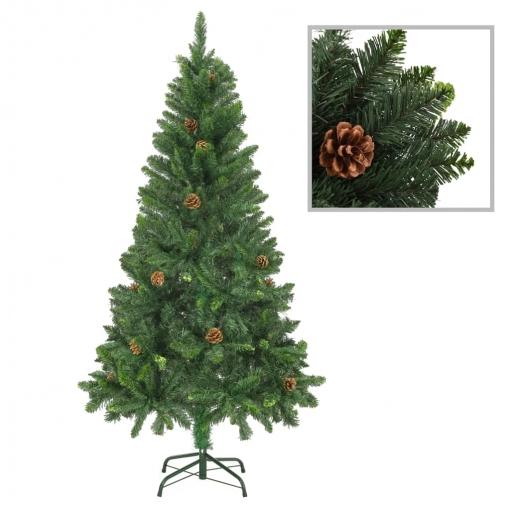 árbol De Navidad Artificial Con Piñas Verde 150 Cm Vidaxl Con Ofertas En Carrefour Las Mejores Ofertas De Carrefour