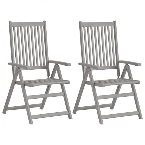 sillas de jardin madera d acacia en carrefur