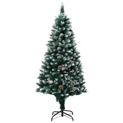 árbol De Navidad Artificial Con Piñas Y Nieve Blanca 150 Cm Vidaxl Con Ofertas En Carrefour Las Mejores Ofertas De Carrefour