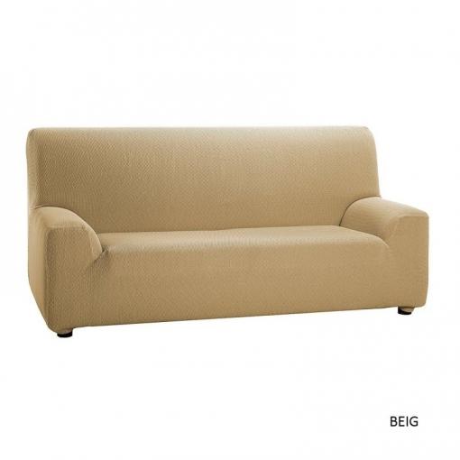 Belmarti - Funda De Sofá Universal Jacquard Stretch Sofa Cover Actual Design - Color: Beige - Opción Sofá: 2 Plazas