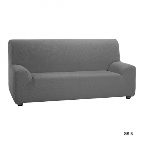 Belmarti - Funda De Sofá Universal Jacquard Stretch Sofa Cover Actual Design - Color: Gris - Opción Sofá: Dúo ( 2+3 )