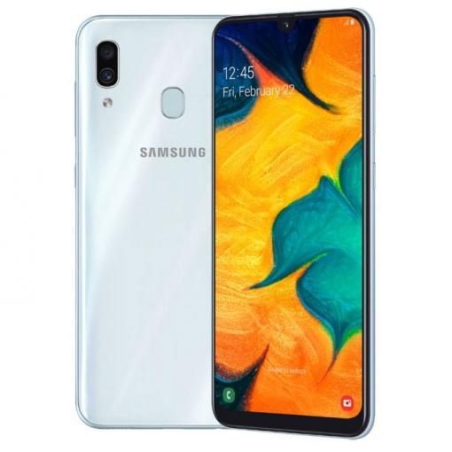 Samsung Galaxy A30 4g 4gb 64gb Libre Dual Sim Blanco Con Ofertas