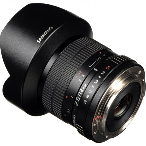 Lente Samyang 14mm F2 8 Canon Ultra Wide Angle