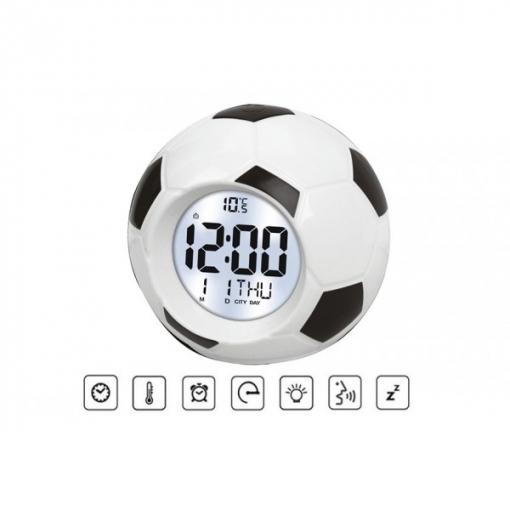 Reloj Despertador Parlante Balón De Futbol De Pritech | Las mejores ...
