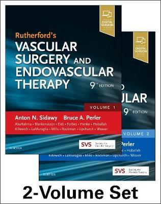 Rutherford's Vascular Surgery And Endovascular Therapy.(2-volume Set.(9th Edition)